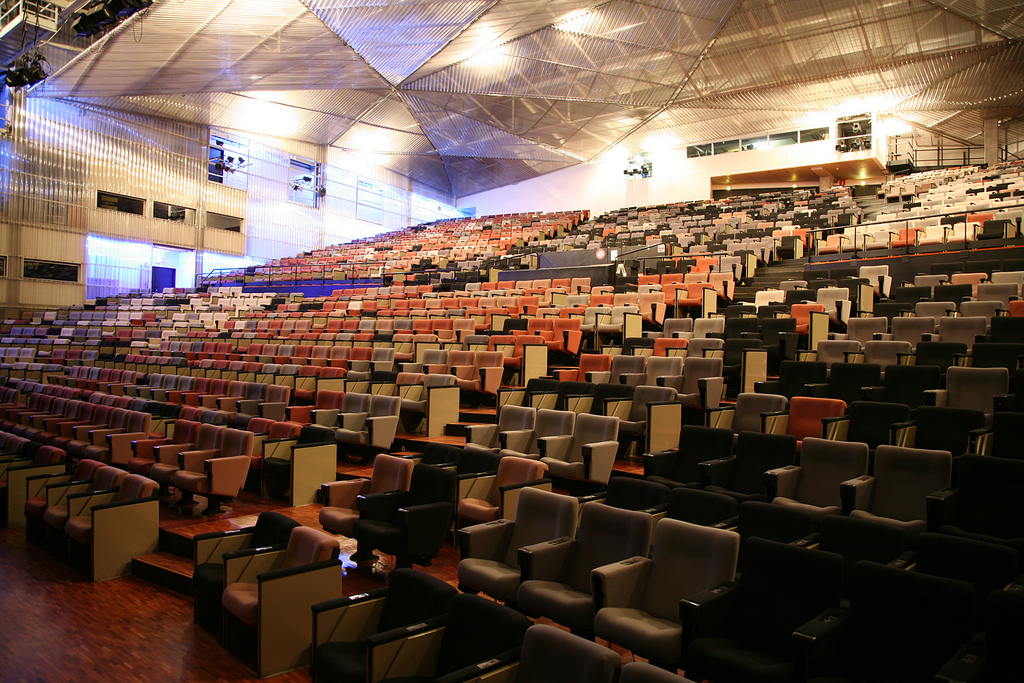 4 auditoriums